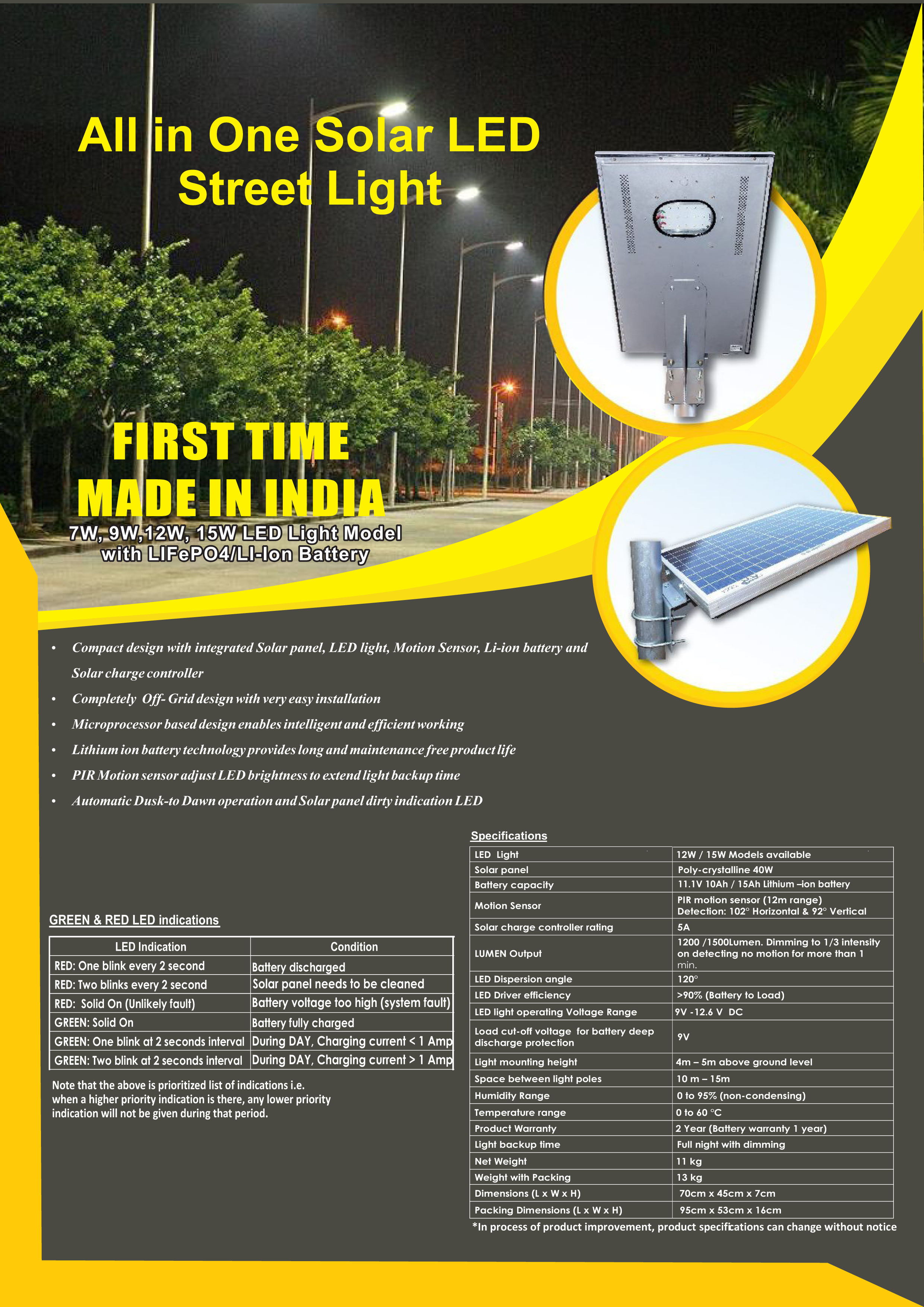 All In One Solar Led Street Lights Aethon